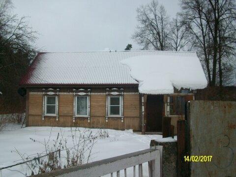 Эксклюзив. Продается жилой дом на берегу реки в центре села Оболенское - Фото 1