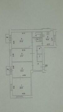 А52768: 4 квартира, Москва, м. Войковская, Ленинградское шоссе, д.19 - Фото 5