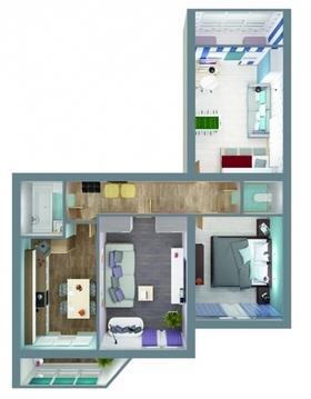 Продается 3-комнатная квартира на ул.Добросельская, д.186а - Фото 2