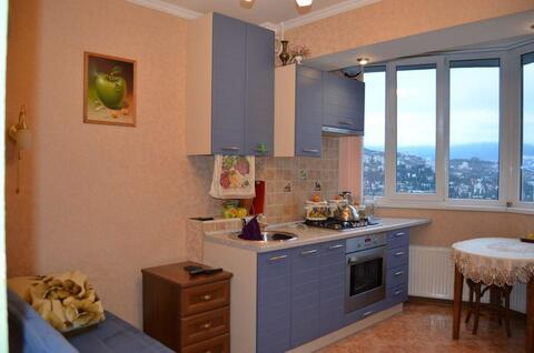76 000 $, 1-к.квартира на ул.Горького, Ялта, новый дом, Продажа квартир в Ялте, ID объекта - 327309767 - Фото 1