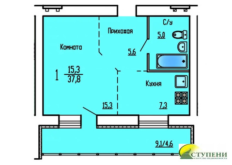 Объявление №58869124: Продаю 1 комн. квартиру. Курган, ул. Сибирская, 16,