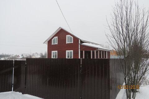 Дом 140 м2, Брус, 15 соток, д. Марино - Фото 3