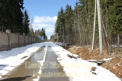 Участок, Минское ш, 35 км от МКАД, Сивково д. (Одинцовский р-н), . - Фото 3
