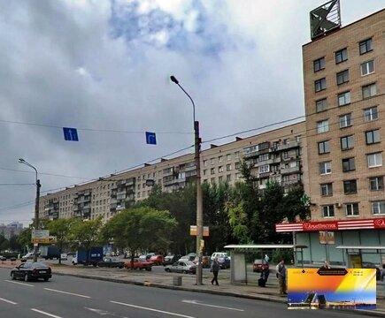 Трехкомнатная квартира на пр.Славы д.2 в кирпичном доме в Прямой прод - Фото 1