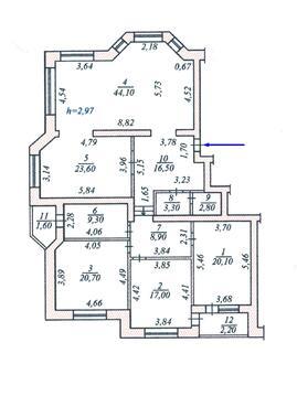Продам 4 квартиру на Талвира, евро ремонт, Чебоксары - Фото 3