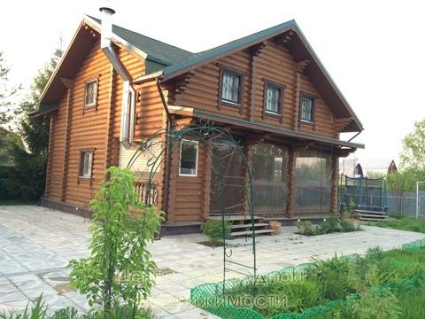 Дом, Минское ш, Можайское ш, Киевское ш, 40 км от МКАД, Петелино д. . - Фото 1