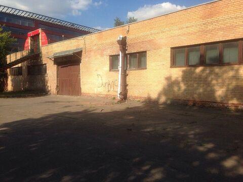 Аренда производственного помещения, м. Нагорная, Хлебозаводский проезд - Фото 1