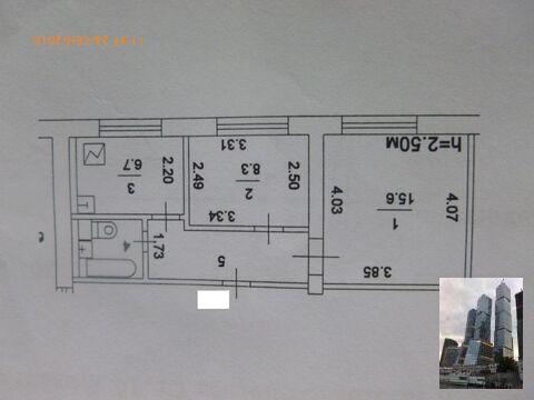 Продается квартира с планировкой линейка по эксклюзивному договору - Фото 1