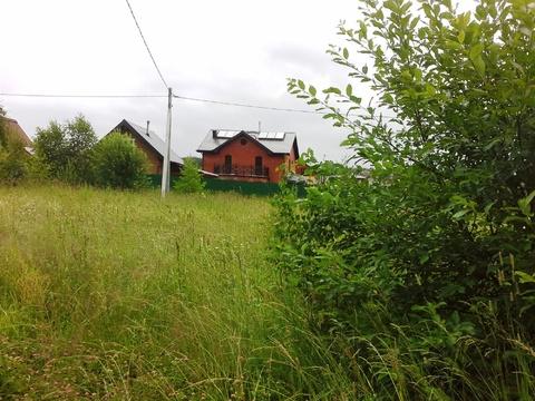 15 соток в д.Тюфанка граничит с лесом - Фото 2