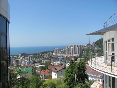 Однокомнатная квартира в г. Сочи с видом на море - Фото 1
