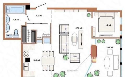 Продается 2-к квартира Метелёва, Продажа квартир в Сочи, ID объекта - 322773217 - Фото 1