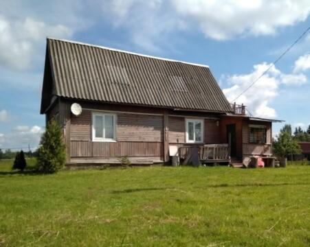 Продажа дома с земельным участком в деревне Радищево, Чудовского р - Фото 1