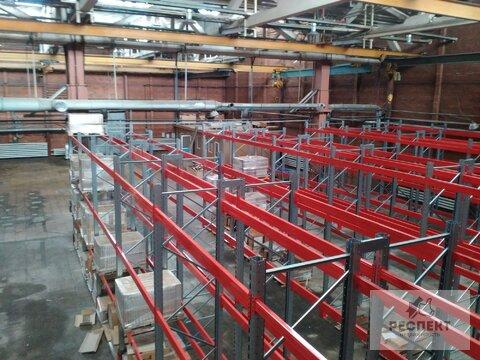 Производство/Склад 670 кв.м, кран-балка 3,5т. - Фото 2