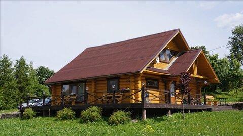 Двухэтажный коттедж с финской сауной в дер. Рагулово - Фото 1