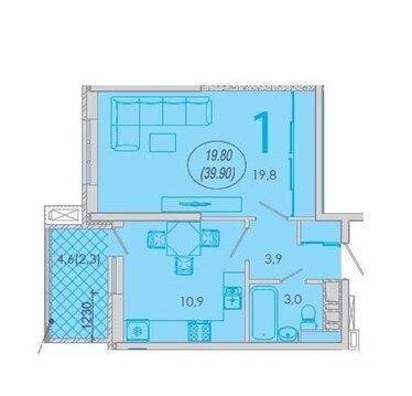 Купить квартиру в ЖК Резиденция, Новороссийск - Фото 4