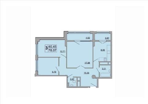 Объявление №55477150: Квартира 3 комн. Белгород, ул. Есенина, дом 9,
