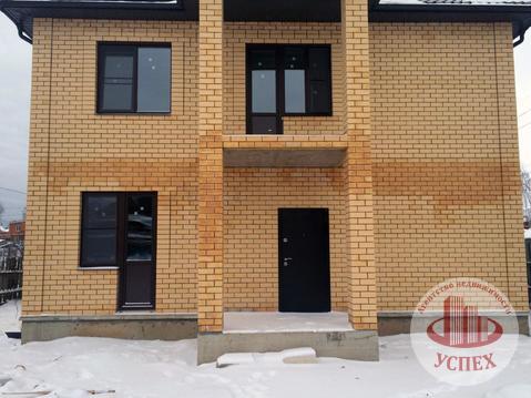 Дом кирпичный, 2 этажа, 2 входа, новый, без отделки - Фото 3