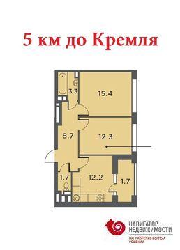 Продажа квартиры, м. Тульская, Ул Архитектора Щусева - Фото 1