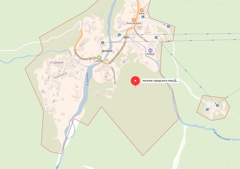 Продается участок 40 соток в поселке Домбай в 20 км. от Теберды - Фото 2