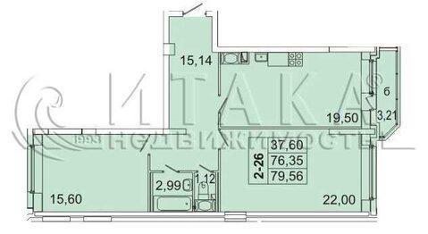 Объявление №49859247: Квартира 2 комн. Санкт-Петербург, Металлистов пр-кт., д. 117,