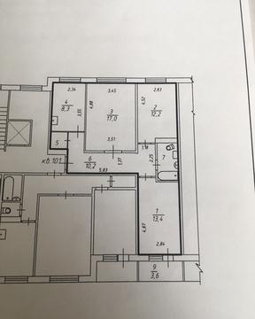 Продается 3 комнатная квартира 66 кв.м. на Энтузиастов. - Фото 4