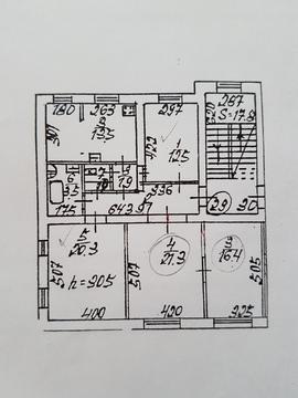Продаются две комнаты в 4-х комн квартире г .Подольск, Дзержинского 3 - Фото 3