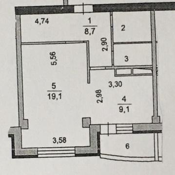 Продажа 1 комнатной квартиры Подольск 43 Армии 19 - Фото 2