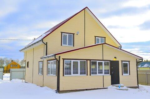 Кривошеино. Новый жилой дом, с хорошей внутренней евроотделкой. Баня. - Фото 1