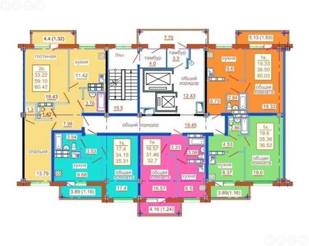 1 350 000 Руб., Королева 16-193, Купить квартиру в Омске по недорогой цене, ID объекта - 317980392 - Фото 1