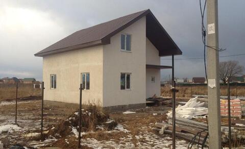 Продается новый блочный дом 162м на 10 сот, д.Малышево, Раменский р-н - Фото 2