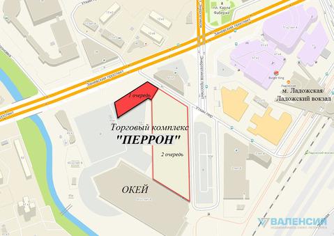 Аренда помещений от 80м2 до 800м2 в новом тк «перрон», Заневский пр 65 - Фото 4