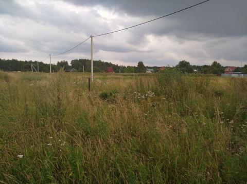 Продается земельный участок 10 соток. Чеховский район, д.Булычево - Фото 4