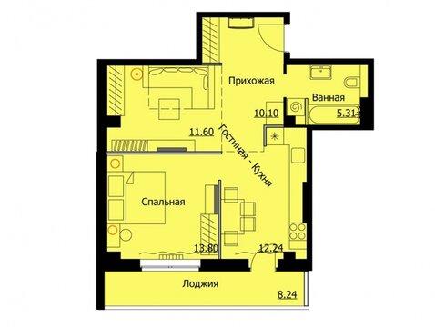 Продажа 1-комнатной квартиры, 57.1 м2, Тургенева, д. 30 - Фото 1