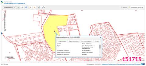 Продажа земельного участка, Истринский район, Деревня Веретёнки - Фото 1