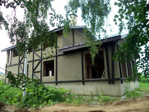 Кирпичный коттедж в деревне Голохвастово. Газ по границе. - Фото 5