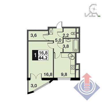 Продажа квартиры, Развилка, Ленинский район - Фото 1