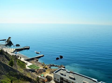 Двухкомнатные апартаменты на берегу моря, Парковое - Фото 5