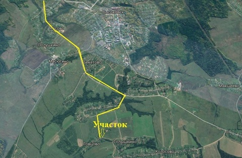 Продается участок 15 соток (ИЖС) в д.Ловцово, Клинский р - Фото 4
