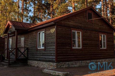База отдыха на берегу Вуоксы, Продажа офисов в Приозерске, ID объекта - 600913002 - Фото 1