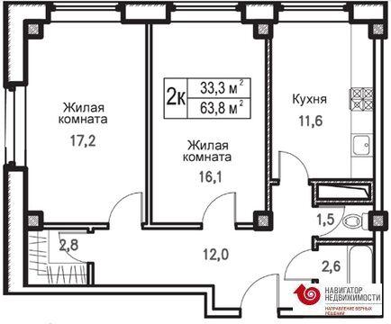 Продажа квартиры, Большие Жеребцы, Щелковский район, Ул Центральная - Фото 2