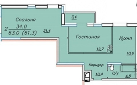 Продам квартиру в ЖК Панорама - Фото 2
