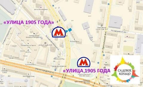 Улица 1905 года, 1 мин. пеш, Street-retail, торг. назн, Улица 1905 г - Фото 1