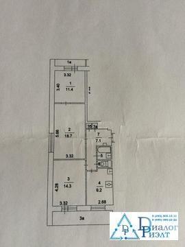 Продается отличная трехкомнатная квартира в тихом районе Москвы - Фото 5