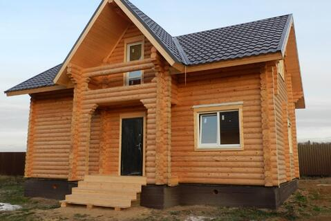 Дом с участком по Киевскому шоссе из бревна 8-10 соток Вишневый сад - Фото 2
