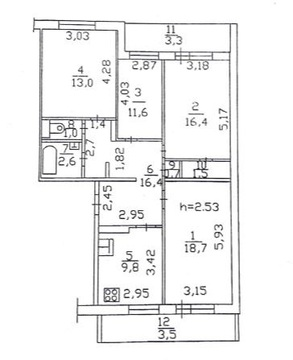 Продам квартиру ул.Абсалямова д.14а - Фото 1