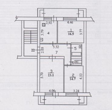 Продам 3-х комнатную квартиру ул. Дальневосточная - Фото 5