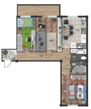 3-х комнатная квартира Пр-т Античный, г. Севастополь - Фото 2