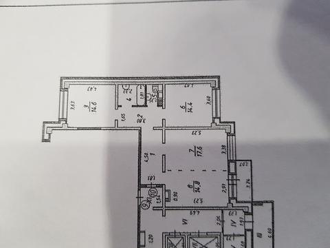 Продается 3-комн. квартира 85.4 м2 - Фото 3