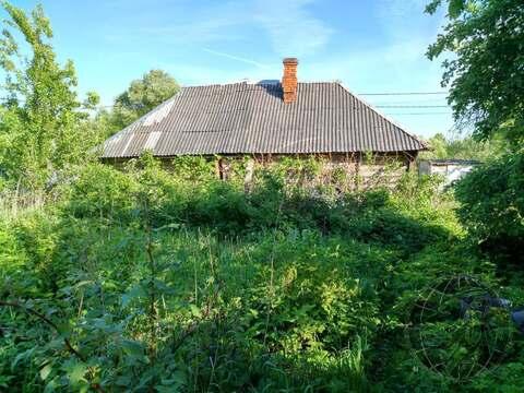 Участок со старым домом ИЖС в д. Сертякино г.о. Подольск - Фото 2