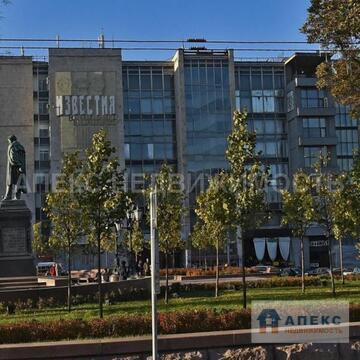 Аренда офиса 90 м2 м. Пушкинская в бизнес-центре класса В в Тверской - Фото 1